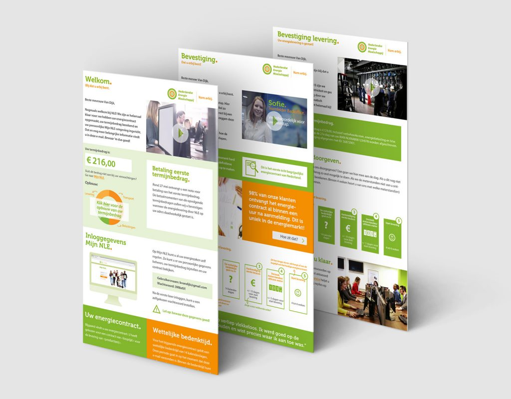 NLE - Onderzoek en redesign van de Customer Journey