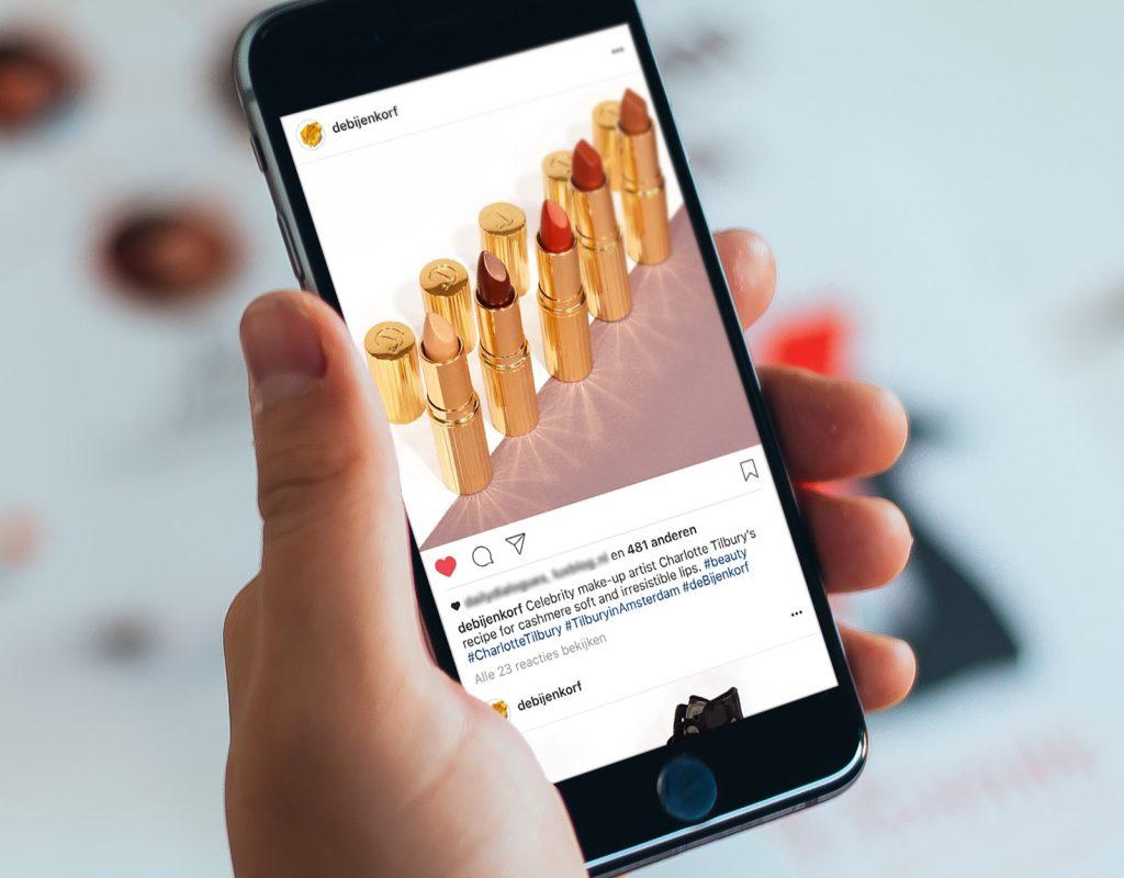 Bijenkorf - Instagram strategie en stijlbepaling