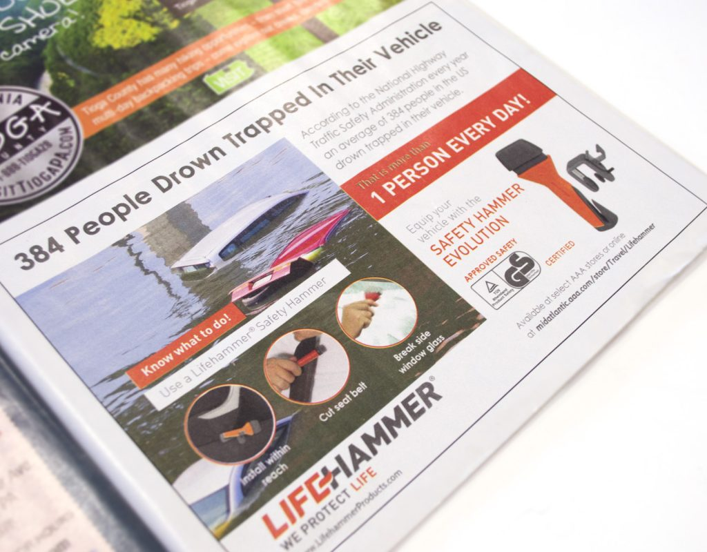 Lifehammer - Awareness campagne in USA