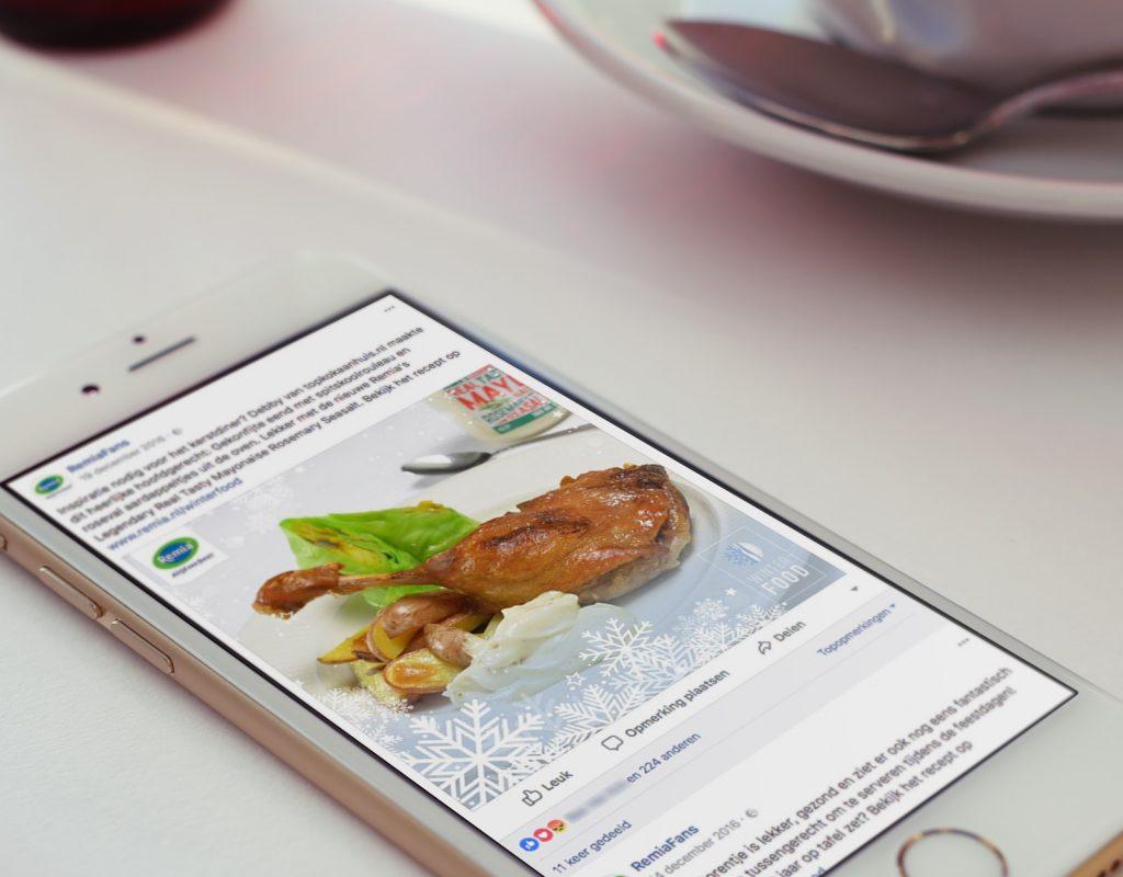 Remia - Seizoen campagne 'Winterfood'
